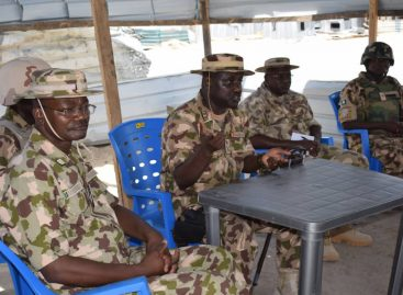 Chief of Army Staff Tell Troops To Remain kajad
