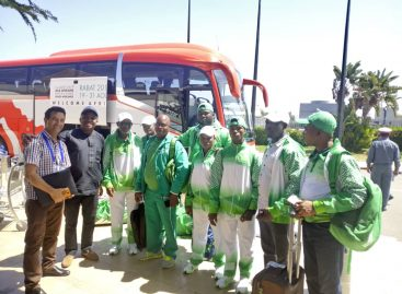 African Games; Second  Batch of Athletes Arrive Morocco
