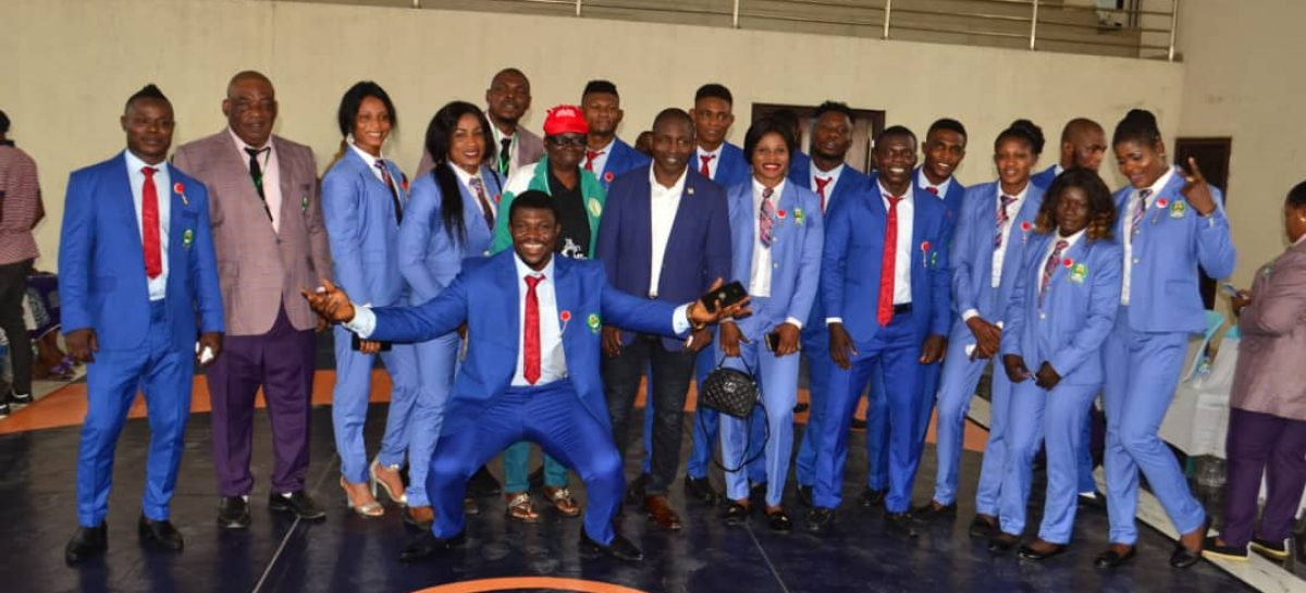 Sixteen Wrestlers Unveiled For 12th All African Games In Rabat.