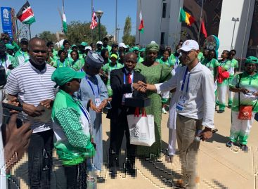 Nigeria Flag Hoisted in Morocco for the 12th African Games