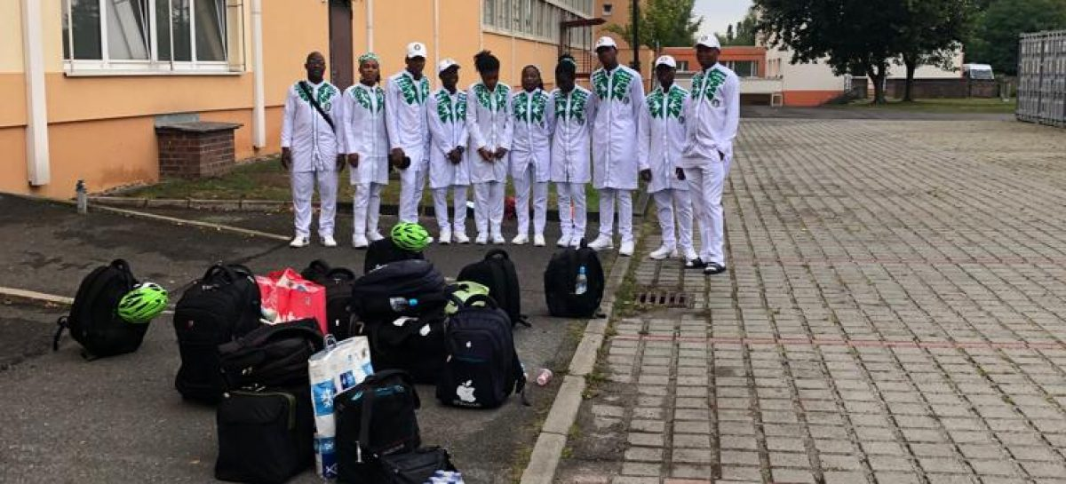 Sports Minister Assures Cycling President Of FG Support On Cycling Development  — As Team Nigeria Arrive From Germany