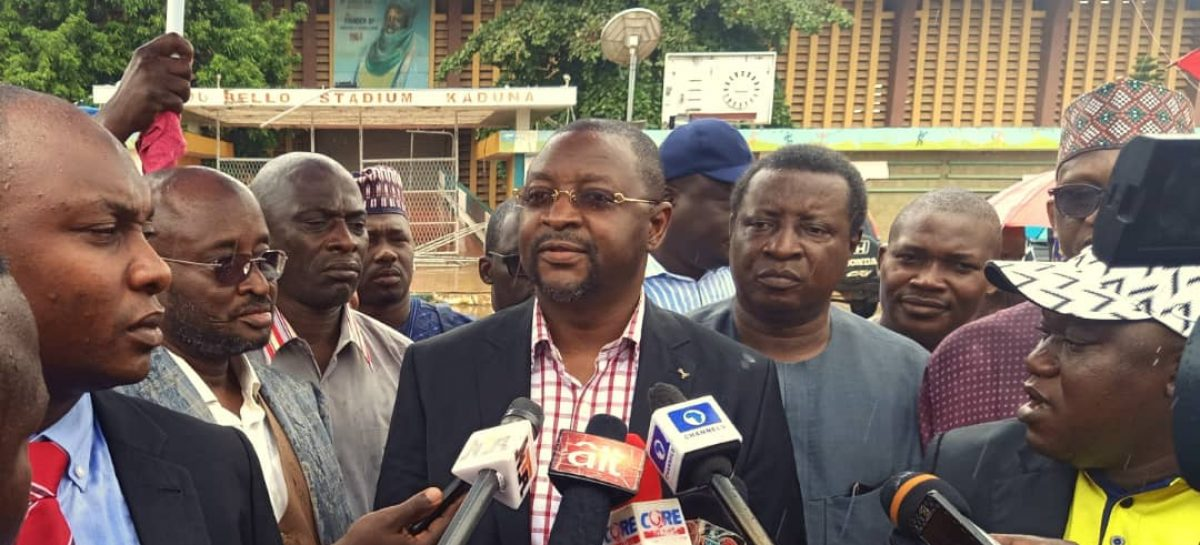 Minister Visits Ahmadu Bello Stadium, Says will be ready for Female U20