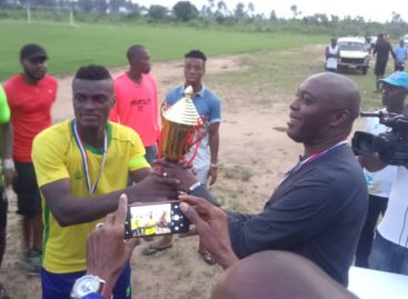 Rt Hon Nse Essien Commissions Camp for FC One Rocket