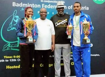 Nigeria's Badminton Players Begin  Olympic Qualification in Egypt
