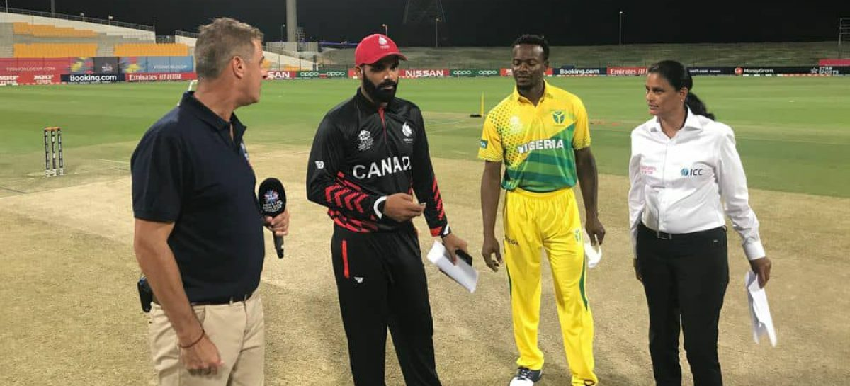 T20 World Cup Qualifiers:Nigeria End Series With No Win