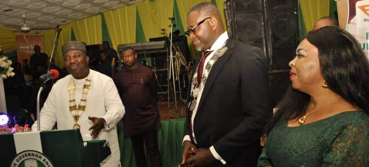 Gov.Ifeanyi Ugwuanyi Appoints PDP's  Auditor as Chairman of Enugu Sports Club