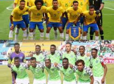 Brazil force Nigeria to 1-1 draw in Singapore
