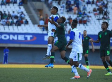 Eagles Wallop Lesotho's Crocodiles 4-2 to Stay Top of Group