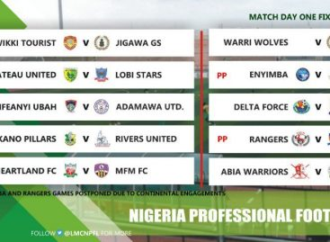 #NPFL20 Match Day one preview Kano Pillars versus Rivers United