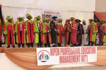 Triune Biblical Univ Holds 14th Annual Convocation, Award, Graduation Ceremony  …as 120 students graduate, 200 matriculate, 20 get honorary degrees