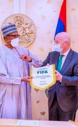President Buhari Describes Football as Center of Unity