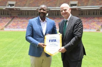 FIFA President Salutes Federal Government's Commitment to Football Excited with Moshood Abiola Stadium